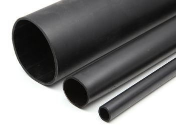 Heavy wall shrink tube with adhesive 3:1 & 4:1