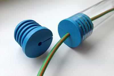 Plug coax 9/12